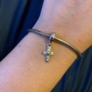 Pandora Jewelry - Cross dangle charm